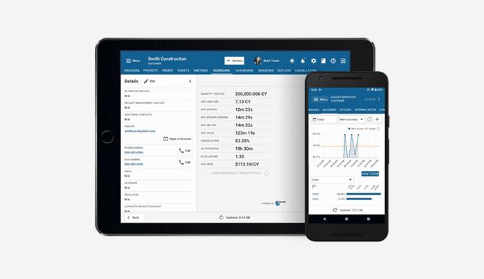 cloud based concrete dispatch software